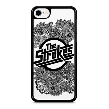 The Strokes Zentangle Logo iPhone 8 Case