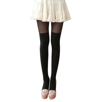 Women Tights 2018 Autumn Winter Varicose Veins Compression Pantyhose Women Calorie Burn Leg Shaping Stockings