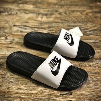 Nike Benassi Swoosh Sandals Style #3 Slippers - Best Online Sale