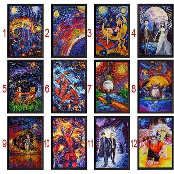 Deadpool Dead pool Taco 5D DIY Diamond Painting Thor   Corpse Bride Painting Cross Stitch Rhinestone Decoration needlework wall picture AT_70_6