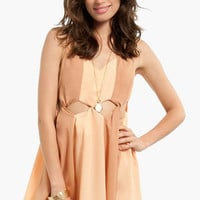 Diamond Cutout Dress $37
