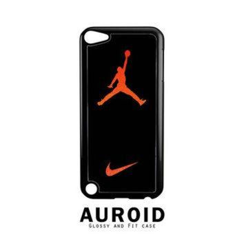 CREYUG7 Nike Air Jordan Jump Man Air iPod Touch 5 Case Auroid