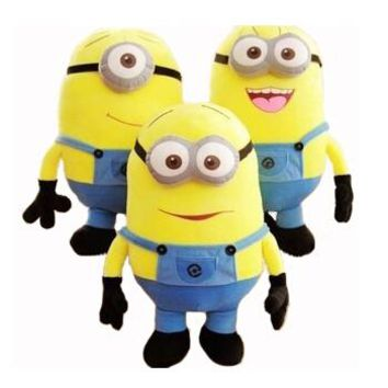 BSTAOFY Dropshipping 18CM Soft Stuffed Plush Toys Baby Toy Despicable Me Movie Minions Birthday Gift for Child Christmas Gift