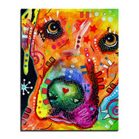 Labrador Retriever Multi Color Canvas Picture