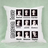 Top Magcon Boys Member High Quality Pillow Case Cushion 16 18 20 2 Side Cover