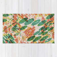 Dream Recordings Area & Throw Rug by Nick Nelson   Society6