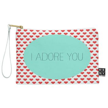 Allyson Johnson I Adore You Pouch
