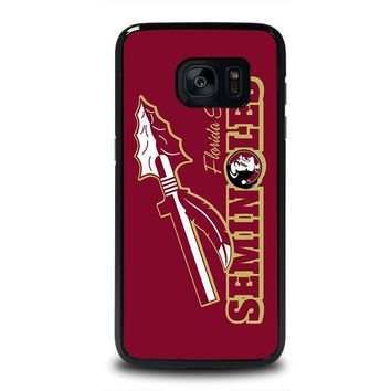 FLORIDA STATE SEMINOLES FSU Samsung Galaxy S7 Edge Case Cover