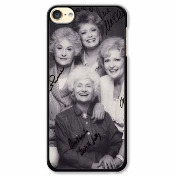 The Golden Girl Black Sign iPod Touch 6 Case