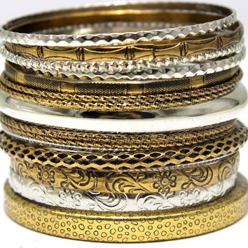 Classic Fashion Big Size Bangle 18K Gold Plated