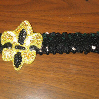 new orleans saints headband