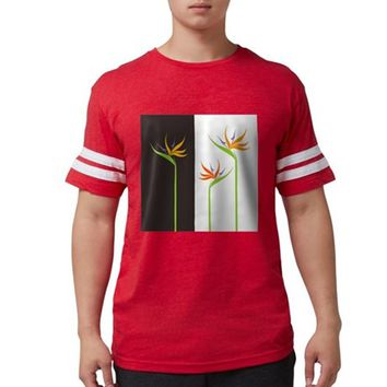 Bird of Paradise Flowers Mens Football Shirt