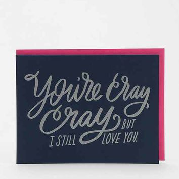 Moglea Cray Cray Love Card- Assorted One
