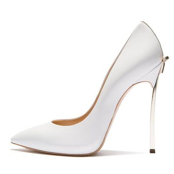 Wedding Shoes Woman High Heels Bridal Shoes With Bow Stiletto 10CM Heels
