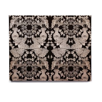 "DLKG Design ""Versailles Black"" Birchwood Wall Art"