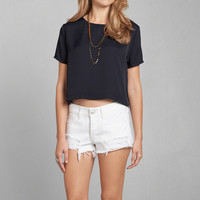 Cropped Boxy Tee
