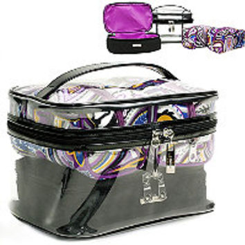 Trina Wild Prairie Jungle 4PC Train Case Ulta.com - Cosmetics, Fragrance, Salon and Beauty Gifts