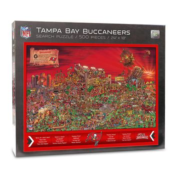 Tampa Bay Buccaneers Find Joe Journeyman 500-piece Puzzle