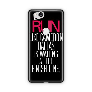 Run Like Cameron Dallas Google Pixel 3 XL Case | Casefantasy