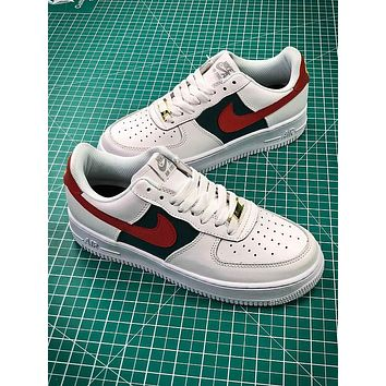 Nike Air Force 1 AF1 Low AH6511-999 White Green Red Sport Shoes