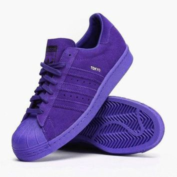 Adidas SUPERSTAR CITY SERIES Shell-top (6-color) Purple I