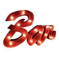 Bar Marquee Letter Light Sign
