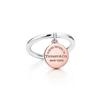 Tiffany & Co. - Return to Tiffany®:Circle Tag Ring