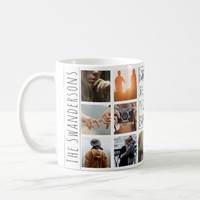 Personalized 14 Frame Quote Coffee Mug