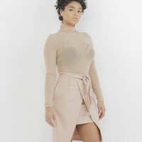 MARILEE WRAP SKIRT