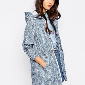 Jack Wills Paisley Rain Mac