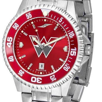 Western State Colorado University Mountaineers Competitor Steel AnoChrom Watch