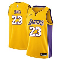 Los Angeles Lakers #23 LeBron James Basketball Jerseys