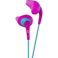 JVC Gumy HA-EN10-P Earphone - Stereo - Pink - Wired - Earbud - Binaural - In-ear - 3.28 ft Cable - Walmart.com