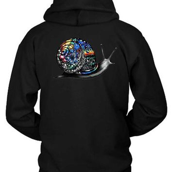 DCCKG72 Pink Floyd Gravity As Snail Colour Hoodie Two Sided