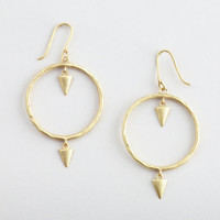 Arrow Hoops Earrings