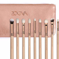 Germany Brand Zoeva ROSE GOLDEN COMPLETE Professional Portable 12pcs Makeup Brushes Set Cosmetic Tool Beauty?Cosmetic Foundation Cream _ 3488