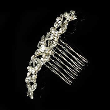 Luxury Hair Accessories Crystal Diamonds Brush [6044664641]
