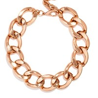 Women's BaubleBar 'Jumbo' Curb Link Necklace