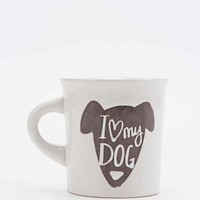 I Love My Dog Mug - Urban Outfitters