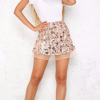 Kallie Sequin Skirt