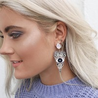 Eye Heart Your Rhinestone Earrings