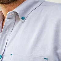 Gray Dressed Down Button-Down Shirt - Betabrand