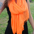 Super Soft Spring Scarf in Neon