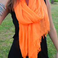 Super Soft Scarf in Neon