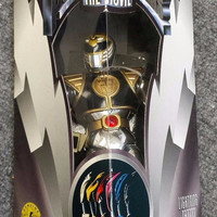 "8"" White Ranger Action Figure - Movie Edition - Mighty Morphin Power Rangers new in box"