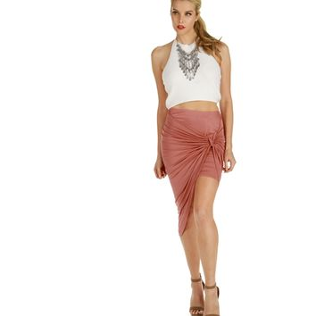 Pink Take Sides Skirt