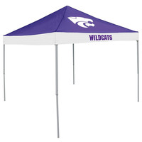 Kansas State Wildcats NCAA 9' x 9' Economy 2 Logo Pop-Up Canopy Tailgate Tent