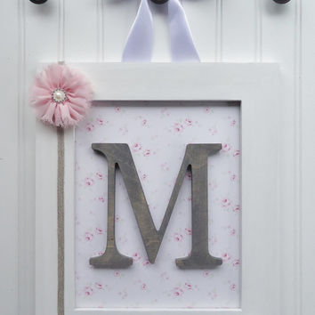 Shop Framed Letters For Nursery on Wanelo