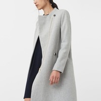 Inner lining coat - Woman | MANGO USA