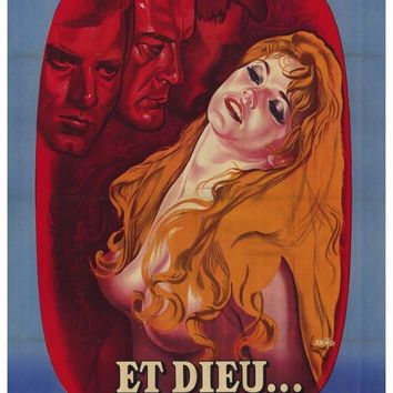 And God Created Woman (Foreign) 27x40 Movie Poster (1957)